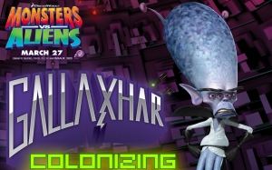 Monsters vs Aliens Gallaxhar