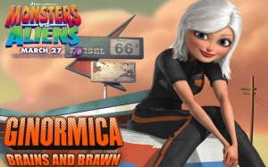 Monsters vs Aliens Ginormica