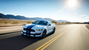 Ford Mustang Shelby GT350R Blanco