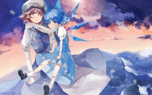Letty whiterock y cirno -Touhou project
