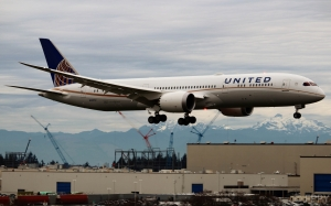 Boeing 787 - United Airlines