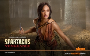 Naevia- Spartacus: vengeance