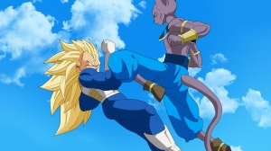 Bills y Vegeta - Dragon Ball Z - Batalla de los dioses