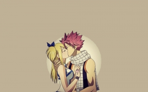 Lucy y Natsu - Fairy Tail
